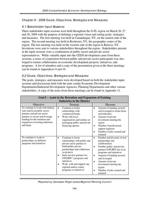 OGSM Example 1   Economic Development   Entrepreneurship