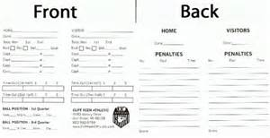 football referee card template large card football referee accessories cliff keen