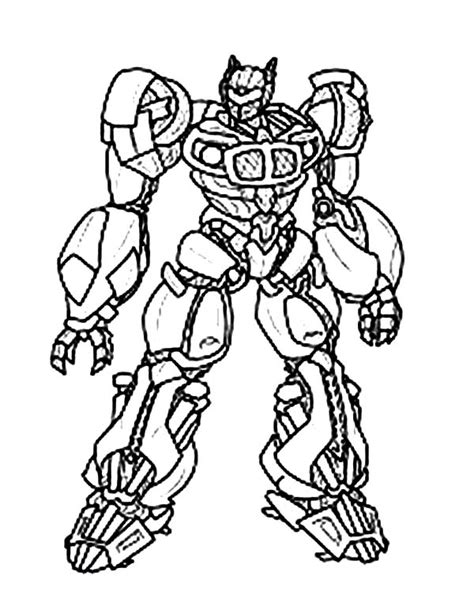 bumblebee transformer coloring clipart best