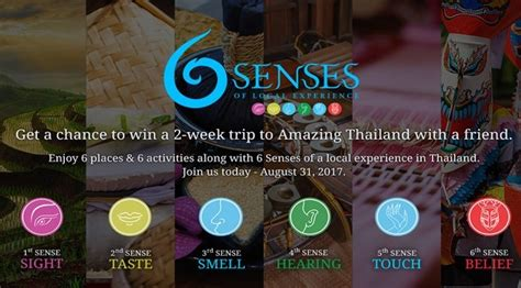 enter  senses project  win real local thai travel
