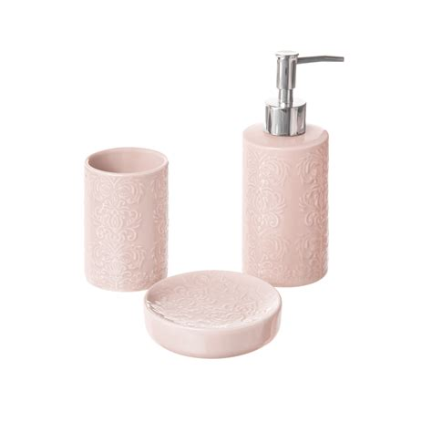 accessori bagno in ceramica set di 3 accessori bagno in ceramica coincasa