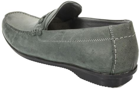 grey slip on shoes mens vagas brown grey slip on leather casual