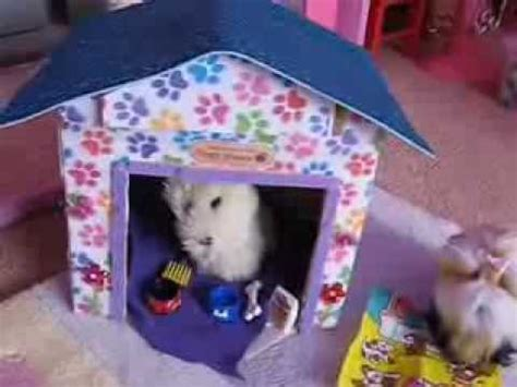 dog house girls how to make an american girl dog house youtube
