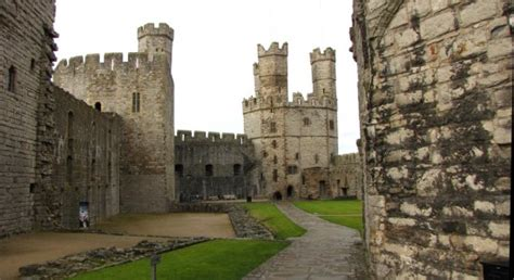 Caernarfon Castle Interior by Caernarfon Castle A Visit To Caernarfon Wales And Stay