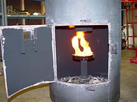 waste oil burning heater for garage diy oil drip stove diy do it your self