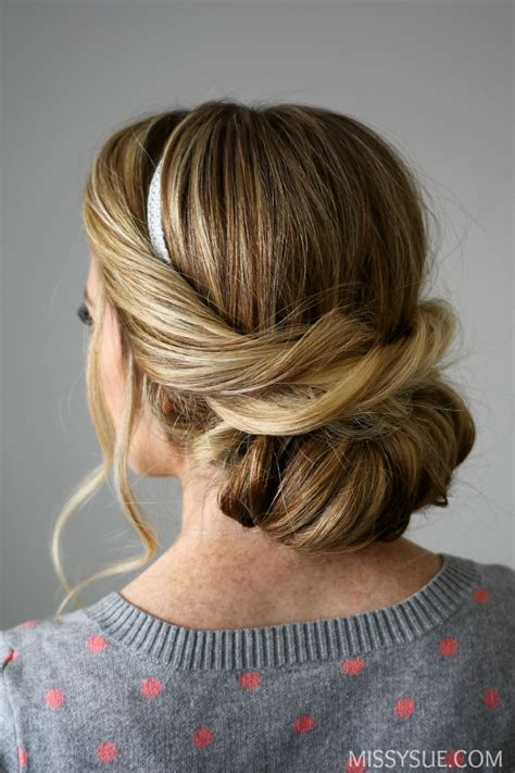 Wedding Hairstyles Updos With Headband by Wrapped Headband Updo