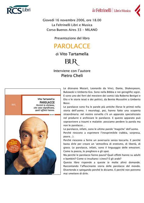 libreria feltrinelli corso buenos aires gli eventi di quot parolacce quot