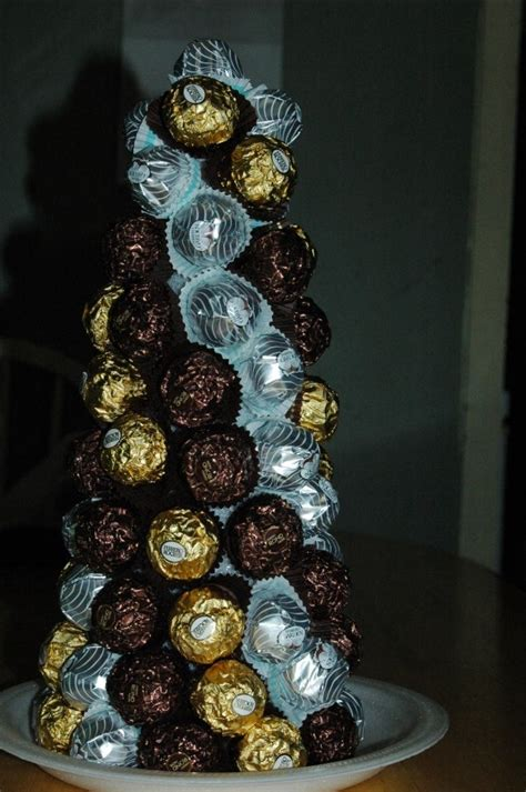 diy ferrero rocher tree ferrero rocher tree chocolate bookey