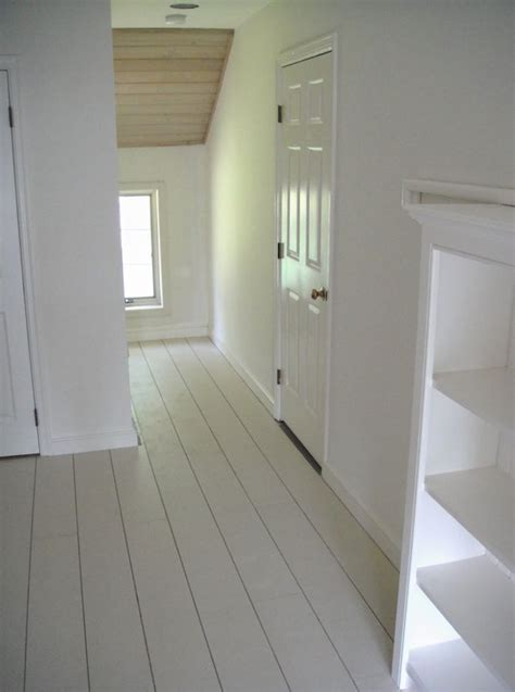 Farmhouse Floors This Look White Painted Floors From Frugal Farmhouse By