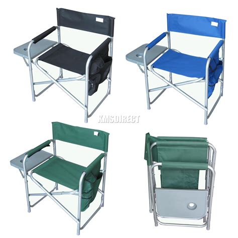 portable folding chair with table folding portable fishing chair cing outdoor bench