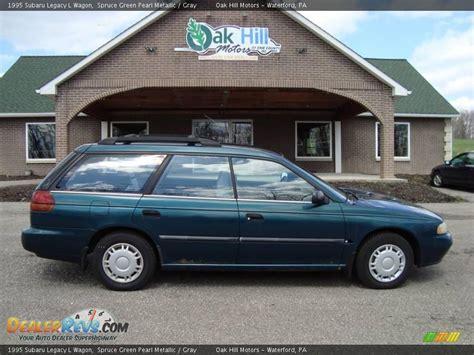 1995 subaru legacy 1995 subaru legacy l wagon spruce green pearl metallic