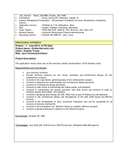 hybrid resume exle documentum resume 60 images documentum project manager