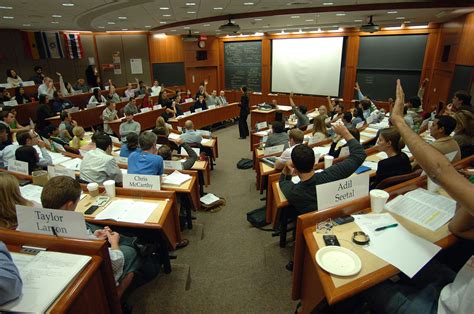 Mba Harvard School by File Students In A Harvard Business School Classroom Jpeg