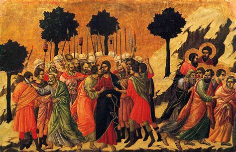 Duccio Betrayal Of Christ Story | innovation in the north worldarts gothic jesus