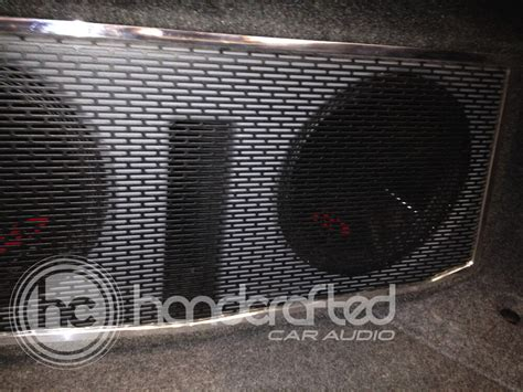 Handcrafted Car Audio - 2012 acura tl subwoofer enclosure handcrafted car audio
