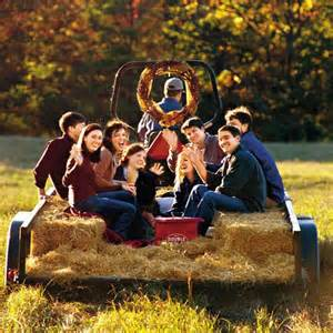 Hayride for the grown ups laughter autumn fun down on the farm