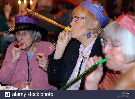 christmas elderly for elderly in bradford stock photo 34307055 alamy