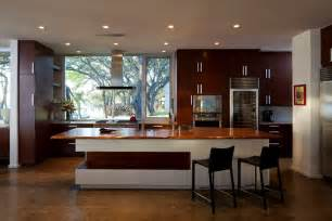 material kitchen design contemporary wooden interior