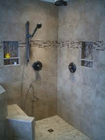 Bath Shower Ideas With Tiles Kerdi Master Bathroom Shower Remodel In Fort Collins