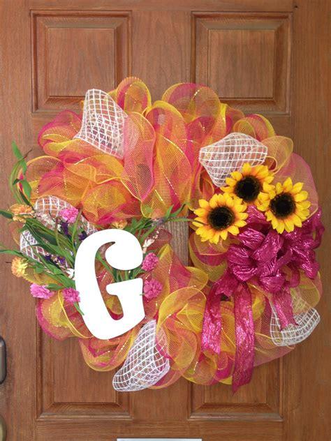wreath   front door fun  design