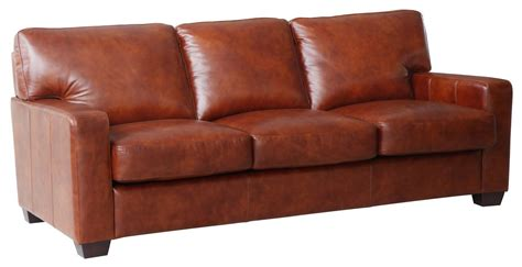 Leather Sofas Aberdeen by Aberdeen Auburn Top Grain Leather Sofa Wh 1528 30 3730