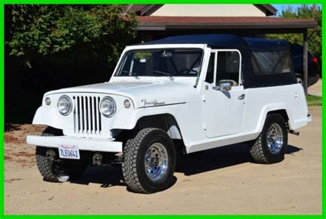 convertible jeep truck restored 1968 jeep commando 4x4 convertible pickup truck