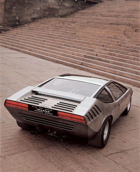 1969 alfa romeo carabo les concepts italdesign alfa romeo iguana 1969 le