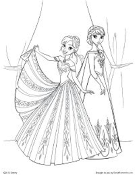 elsa coronation coloring pages 1000 images about disney frozen coloring pages on