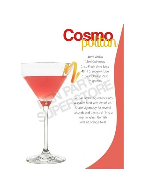 hen cocktails cosmopolitan cocktail recipe next day delivery available