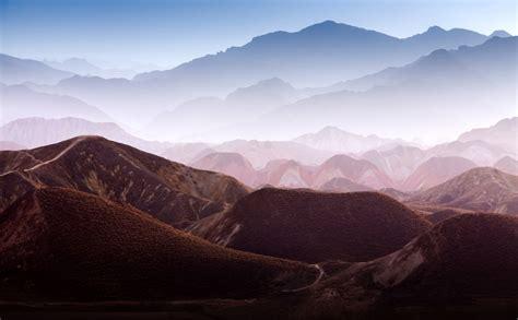 Home Decor Murals Gradient Mountains