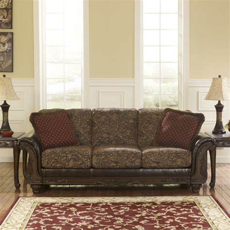 bench craft sofa benchcraft shelby sofa reviews wayfair