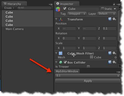 unity editorwindow tutorial simple unity editor scripting exle with a popup software7