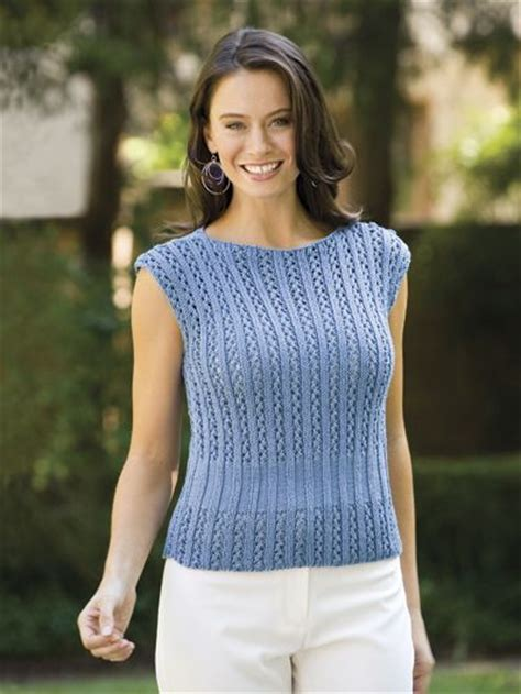 Simple Top B 2391 simple lace top knitting scrap