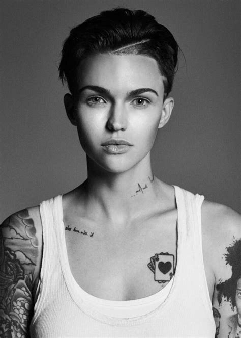 ruby rose new tattoo 25 best ideas about ruby on ruby
