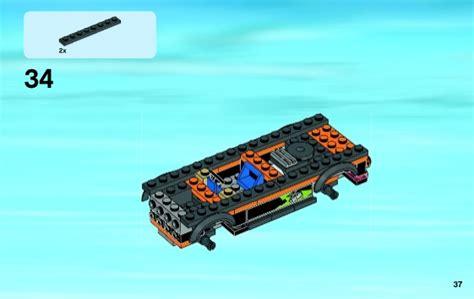 Lego City 60085 4x4 With Powerboat Set Power Motorcar Truck Boat lego 4x4 with powerboat 60085 city