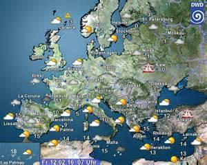 Europe Weather Map by Europe Weather Map Forecast Gibbonsbeefarm
