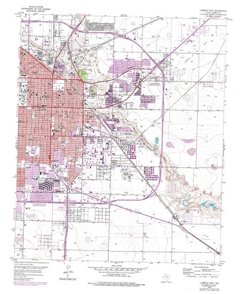 map of lubbock texas lubbock east topographic map tx usgs topo 33101e7