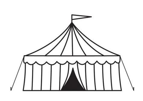 circus tent illustration printables pinterest