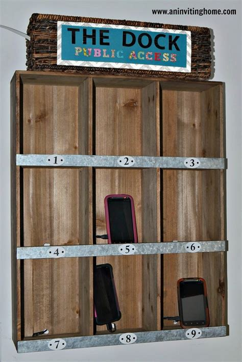 homemade charging station 1000 ideas about phone charging stations on pinterest