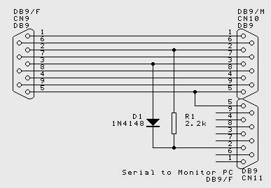 rs232 connections, and wiring up serial devices   firewize