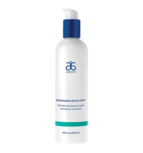 Arbonne Seasource Detox Spa Rescue Wash by Top Tips For Skin Smart City
