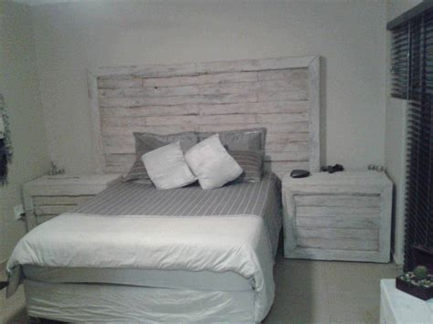 Pallet Bed Headboard & Side Tables ? 1001 Pallets