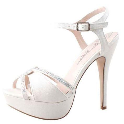 white platform sandals wedding womens white platform heels bridal wedding sandals dress