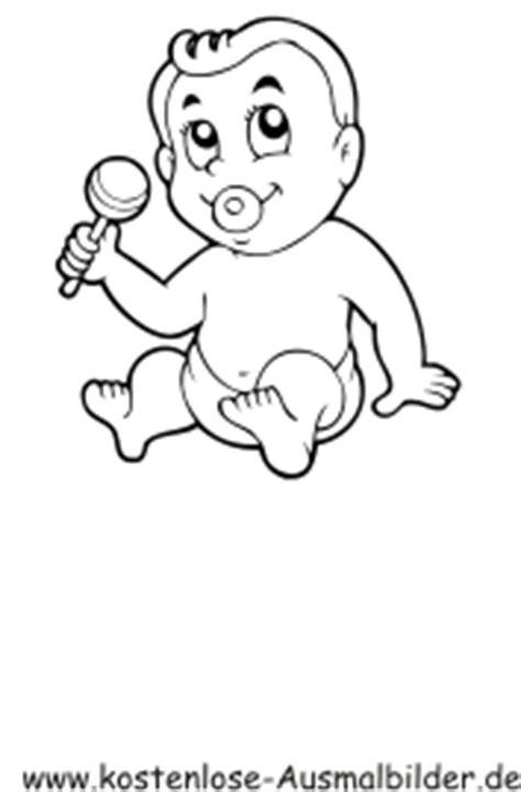 Ausmalbilder Baby   Menschen zum ausmalen   Malvorlagen