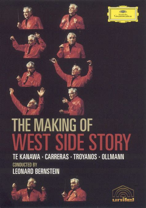 themes west side story leonard bernstein conducts west side story the making of