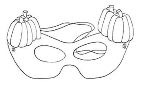 printable masks to color coloring part 8