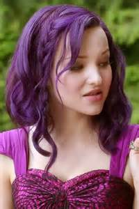 mal hair 130 celebrity purple hairstyles page 2 of 13 steal her