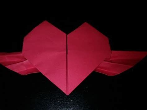 How To Make A Origami Beating - origami beating