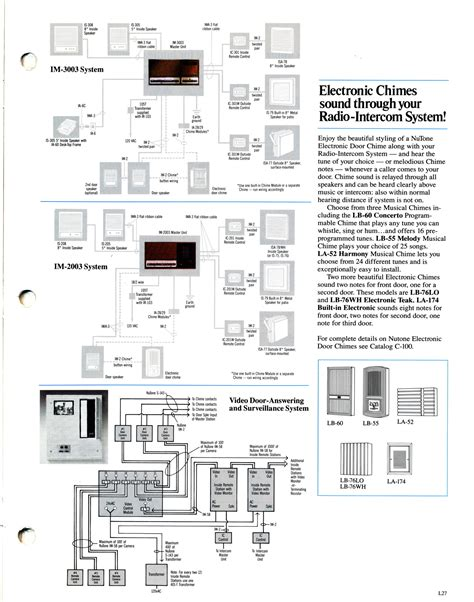 nutone intercom radio wiring diagram nutone door bell