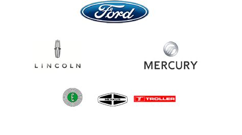 Ford Motor Company Brands by Ford Logopedia Fandom Powered By Wikia